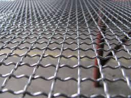 Malla ondulada - Malla metalica galvanizada ...